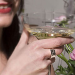 Ring/Pendant - Champagne Cocktail