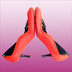 Galoshes from SWIMS - red
